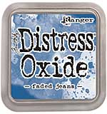 SO: Tim Holtz Distress Oxides Ink Pad - Faded Jeans [OX1702]