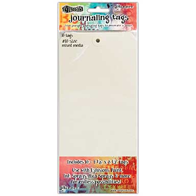SO: Dyan Reaveley\'s Dylusions Journal Tags 10pk - Media Paper #10