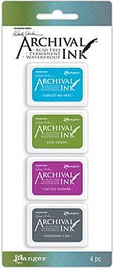 Mini Archival Ink Pads - Set #2 (Wendy Vecchi)