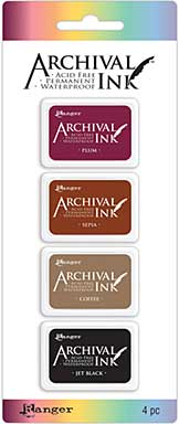 Archival Mini Ink Pad Kits - Kit 2