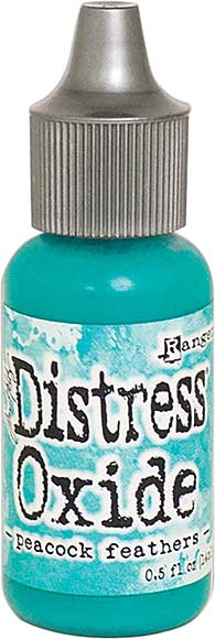 Tim Holtz Distress Oxides Reinkers - Peacock Feathers
