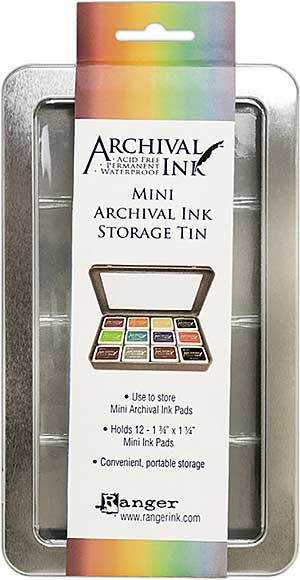 SO: Ranger Mini Archival Storage Tin