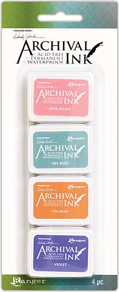 SO: Wendy Vecchi Mini Archival Ink Pads - Kit #3