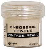 SO: Ranger Embossing Powder - Vintage Pearl