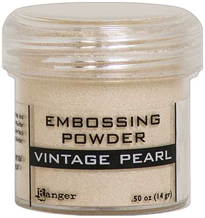 SO: Ranger Embossing Powder - Vintage Pearl