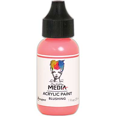 SO: Dina Wakley Media Acrylic Paint 1oz - Blushing