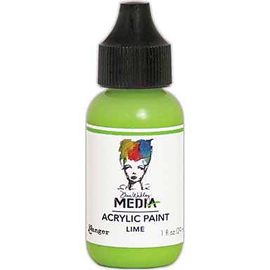 SO: Dina Wakley Media Acrylic Paint 1oz - Lime