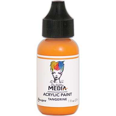 SO: Dina Wakley Media Acrylic Paint 1oz - Tangerine