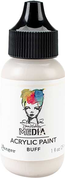 Dina Wakley Media Acrylic Paint 1oz - Buff