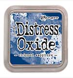NEW COLOUR Tim Holtz Distress Oxides Ink Pad - Chipped Sapphire [OX1811]