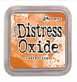 NEW COLOUR Tim Holtz Distress Oxides Ink Pad - Rusty Hinge [OX1811]
