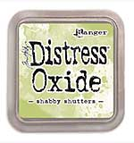 NEW COLOUR Tim Holtz Distress Oxides Ink Pad - Shabby Shutters [OX1811]