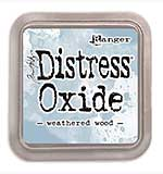 NEW COLOUR Tim Holtz Distress Oxides Ink Pad - Weathered Wood [OX1811]