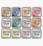 NEW COLOUR Tim Holtz Distress Oxides Fullsize Inkpad Set #5 (12 New Colours) [OX1811]