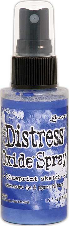 Tim Holtz Distress Oxide Spray - Blueprint Sketch