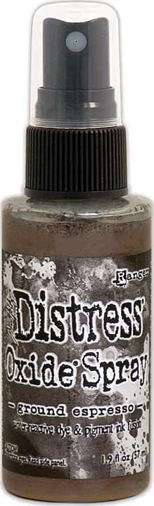 SO: Tim Holtz Distress Oxide Spray - Ground Espresso