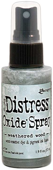 SO: Tim Holtz Distress Oxide Spray - Weathered Wood