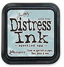 PRE: NEW Tim Holtz Distress Ink Pad - Speckled Egg