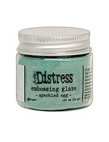 PRE: NEW Tim Holtz Distress Embossing Glaze - Speckled Egg