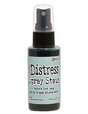 PRE: NEW Tim Holtz Distress Spray Stain - Speckled Egg