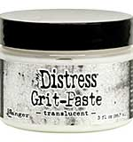SO: Tim Holtz Distress Grit Paste - Translucent (3oz)