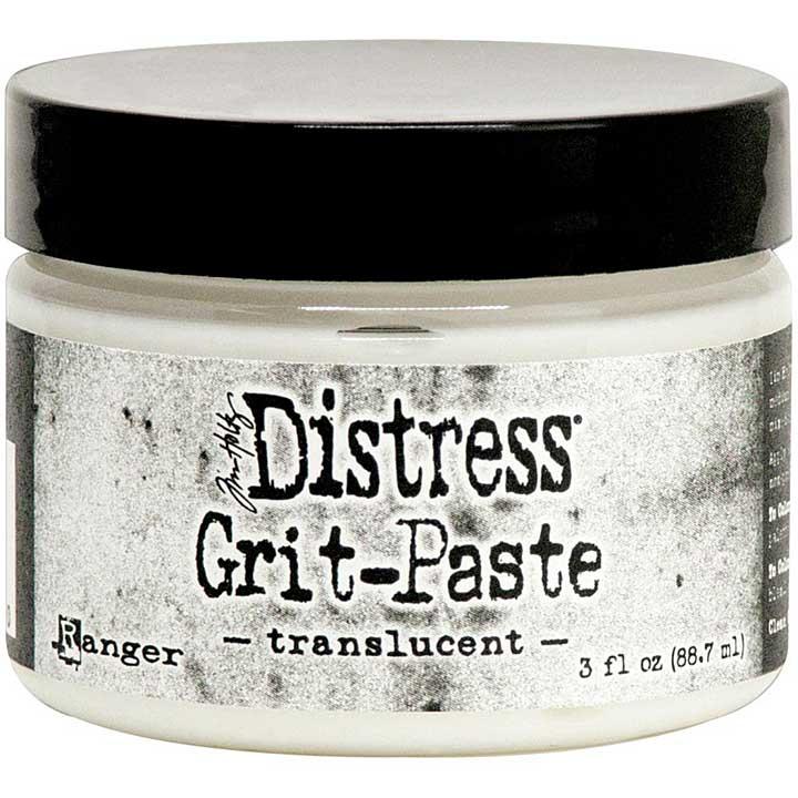Tim Holtz Distress Grit Paste - Translucent (3oz)
