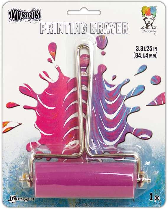 Ranger Gel Press Plate Brayer - Medium