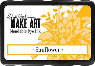 Wendy Vecchi Make Art Dye Ink Pads - Sunflower