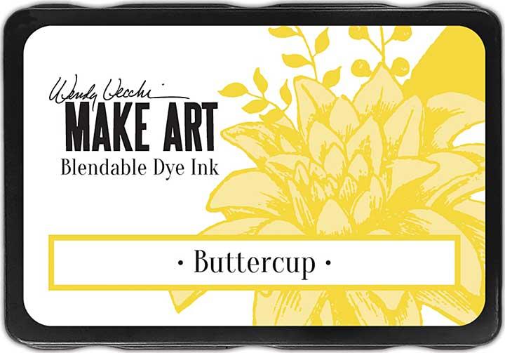 Wendy Vecchi Make Art Dye Ink Pads - Buttercup