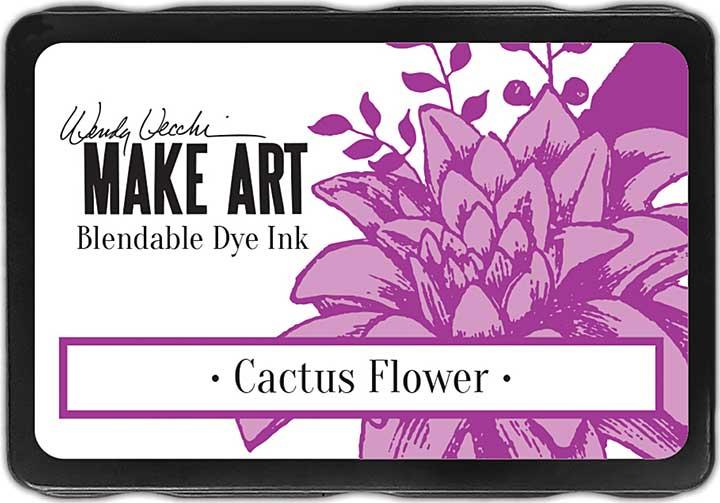 Wendy Vecchi Make Art Dye Ink Pads - Cactus Flower