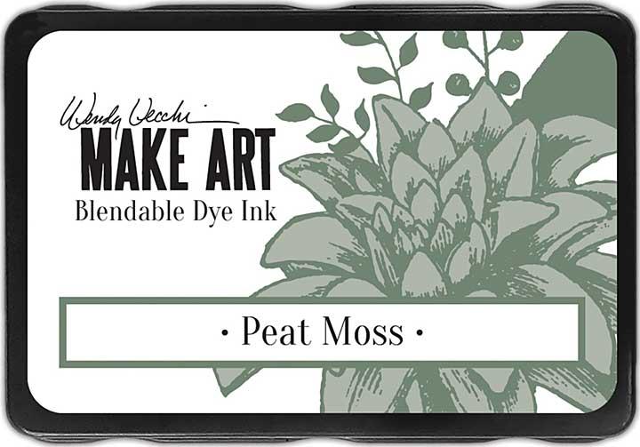 Wendy Vecchi Make Art Dye Ink Pads - Peat Moss