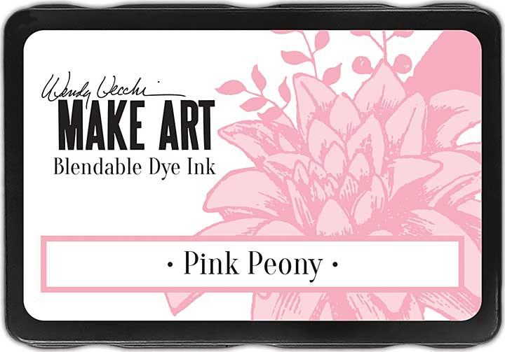 Wendy Vecchi Make Art Dye Ink Pads - Pink Peony