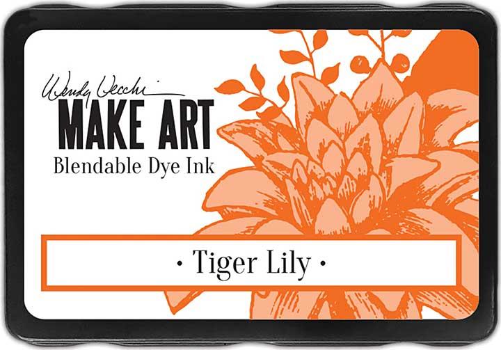 Wendy Vecchi Make Art Dye Ink Pads - Tiger Lily