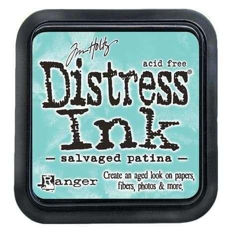 NEW Tim Holtz Distress Ink Pad - Salvaged Patina (MAY 2021)
