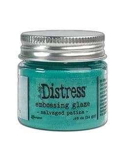 NEW Tim Holtz Distress Embossing Glaze - Salvaged Patina (MAY 2021)