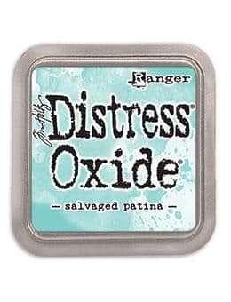 NEW Tim Holtz Distress Oxides Ink Pad - Salvaged Patina (MAY 2021)