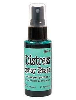 NEW Tim Holtz Distress Spray Stain - Salvaged Patina (MAY 2021)