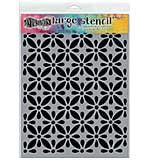 Dyan Reaveley's Dylusions Stencils 9x12 - Quilts