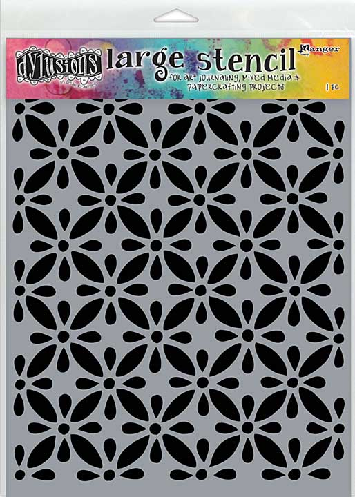 Dyan Reaveley\'s Dylusions Stencils 9x12 - Quilts