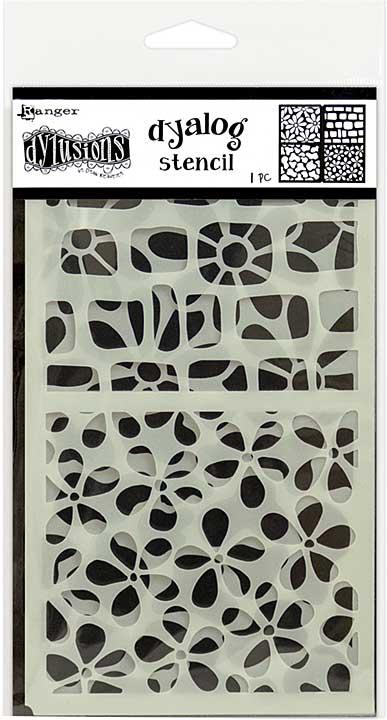 Dyan Reaveley\'s Dylusions Dyalog Stencil - Doodle It