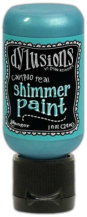 Dylusions Shimmer Paint 1oz - Calypso Teal