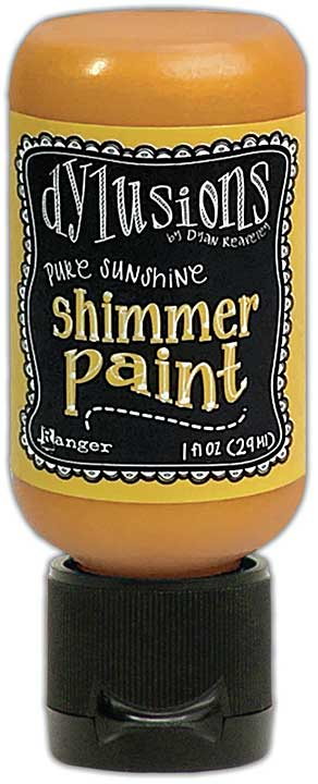 Dylusions Shimmer Paint 1oz - Pure Sunshine
