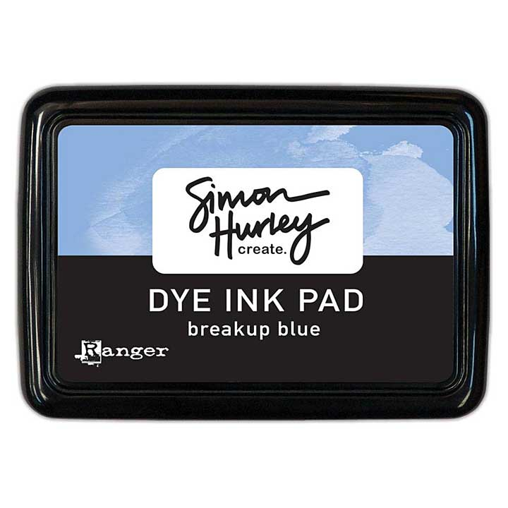 Ranger Simon Hurley create Dye Ink Pad Breakup Blue