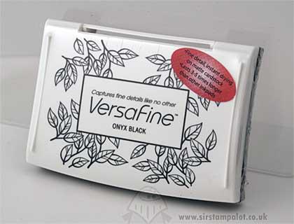 VersaFine Ink Pad - Onyx Black