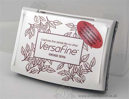 SO: VersaFine Ink Pad - Vintage Sepia