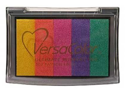 SO: Versacolour Pigment Inkpad (5 colour) - Passion Fruit