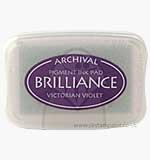 Brilliance Pigment Inkpad - Victorian Violet