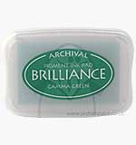 SO: Brilliance Pigment Inkpad - Gamma Green