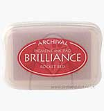 SO: Brilliance Pigment Inkpad - Rocket Red