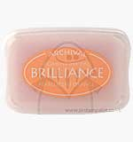 Brilliance Pigment Inkpad - Pearlescent Orange